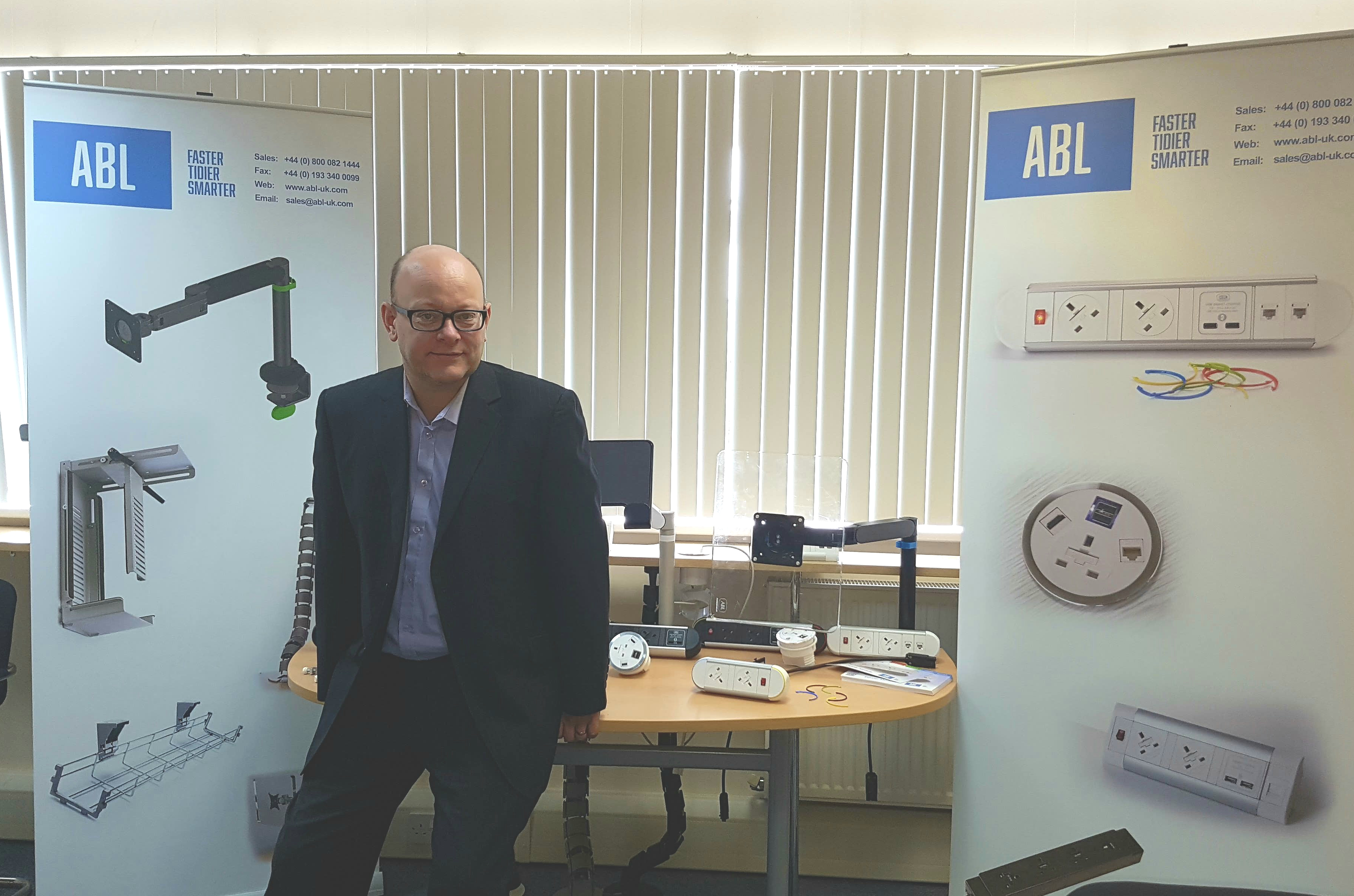 Paul Mckenzie is ABL's new Finance Director!