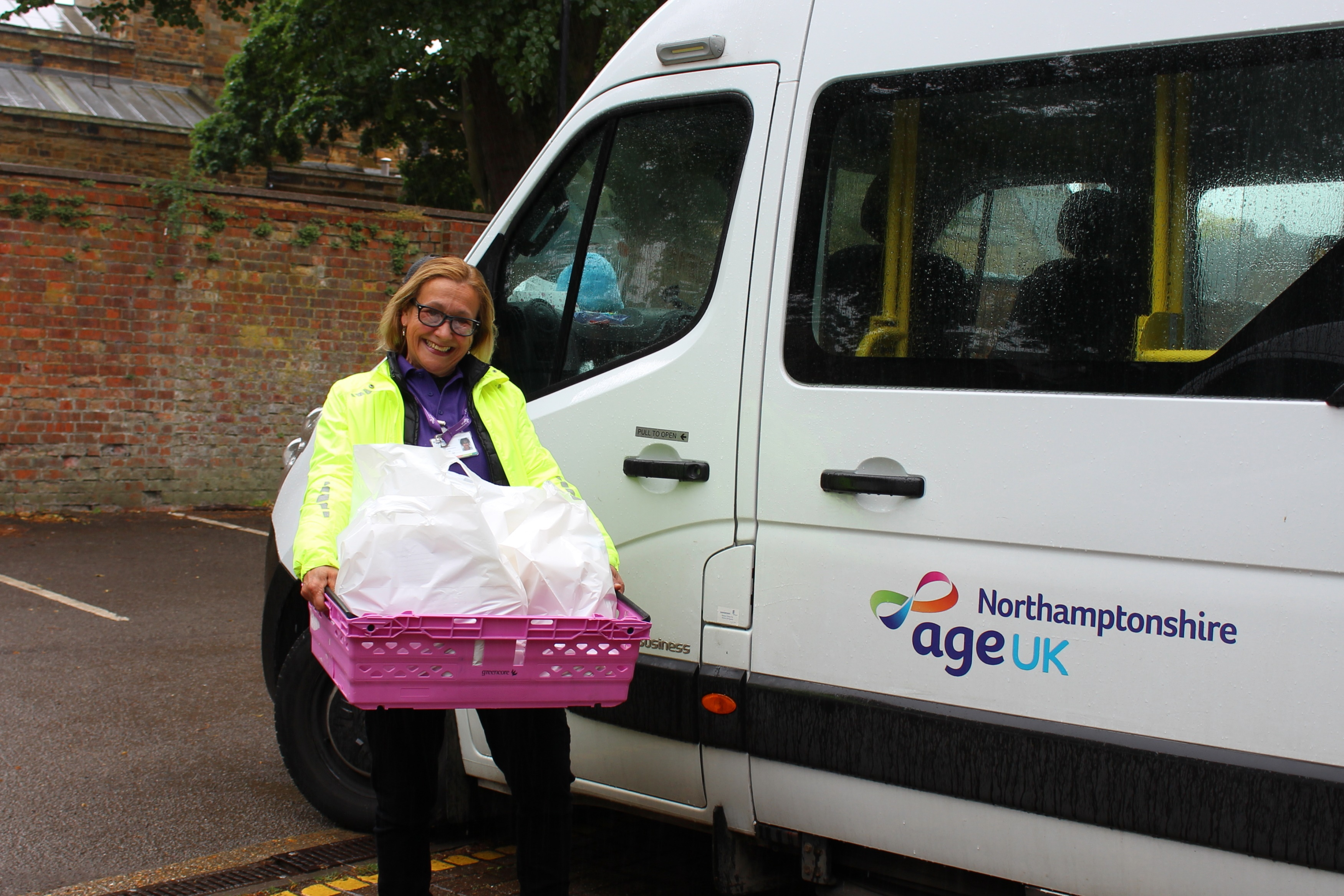 Age UK Northamptonshire's emergency shopping and hot meal delivery services to remain, post COVID-19