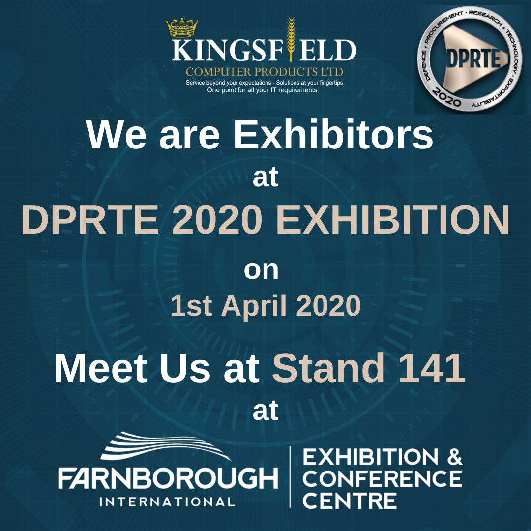 Kingsfield Computer Products Ltd is an exhibitor at DPRTE 2020 Exhibition