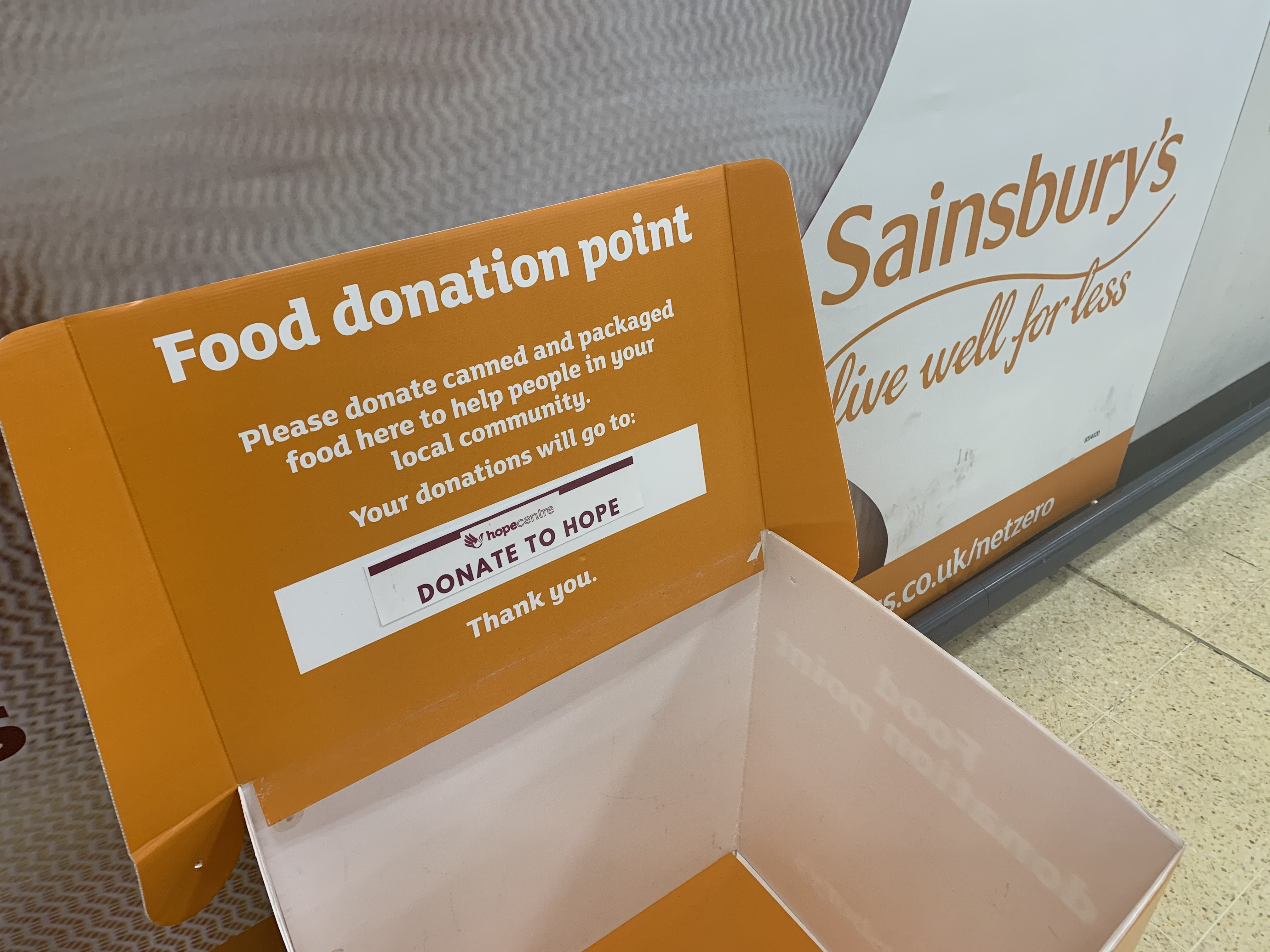 Foodbanks facing imminent crisis point