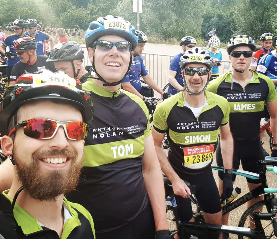 Cycling a hundred miles to celebrate a hundred years raises thousands for charity!
