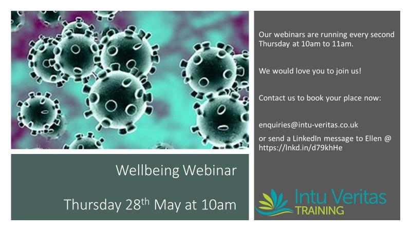 Fortnightly Wellbeing Webinar
