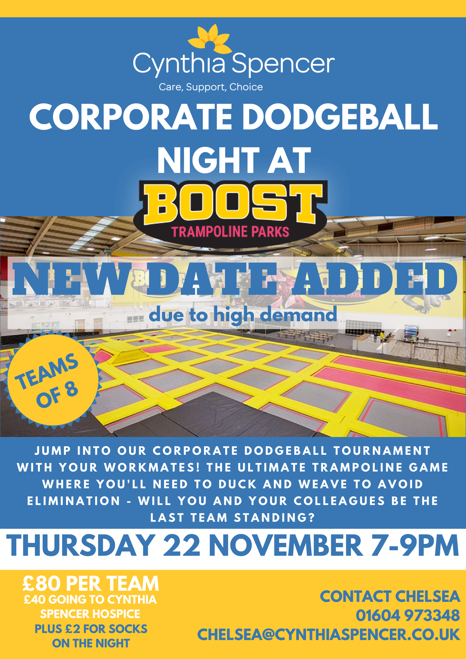 ADDITIONAL DATE - Corporate Dodgeball!
