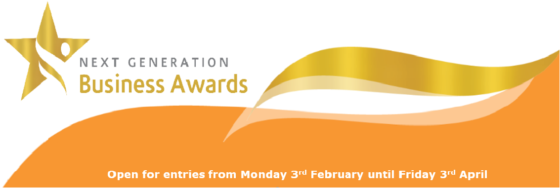 Next Generation Business Awards banner
