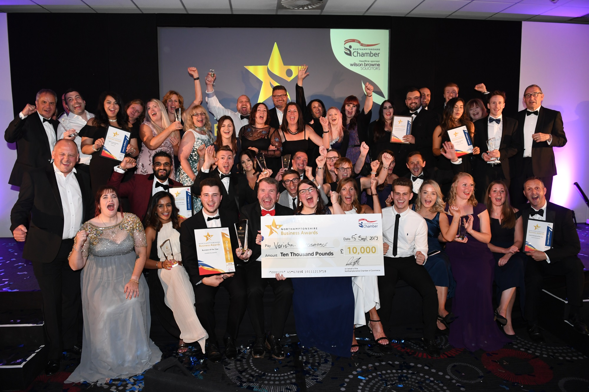2019 Chamber Business Awards regional wins for Northamptonshire firms