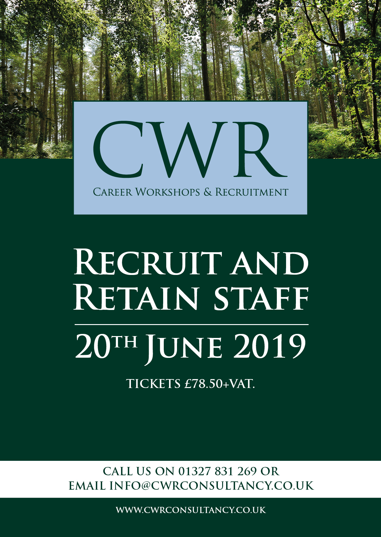 Recruit & Retain Workshop - Back by popular demand!
