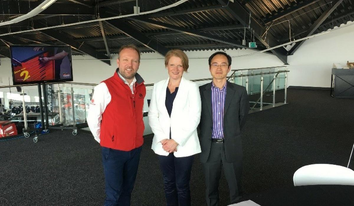 University and Silverstone put wheels in motion on ambitious China project