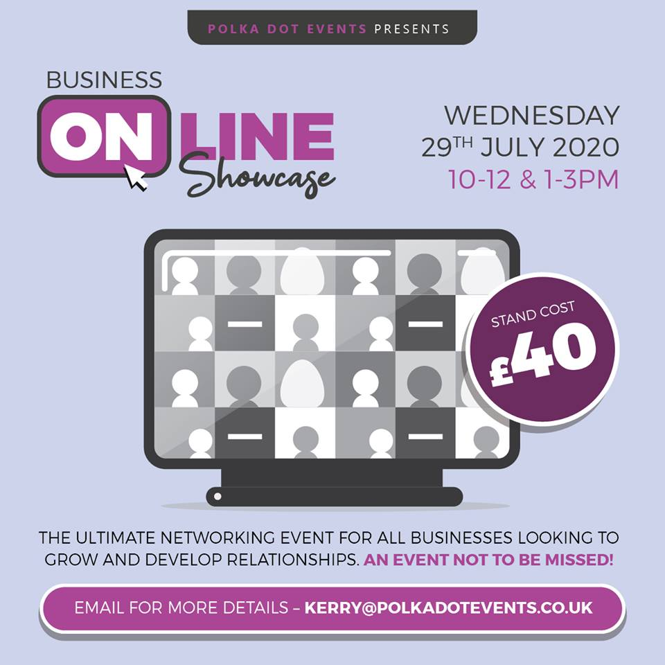 Northamptonshire's first Business Online Showcase- Network from the comfort of your home