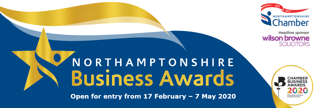 Northamptonshire Business Awards website banner 2020