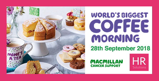 Great Big Coffee Morning - You're Invited!