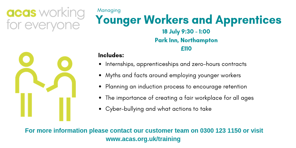 Managing Younger Workers and Apprentices