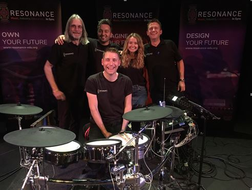 Resonance band heads to Northampton to spread the word to students