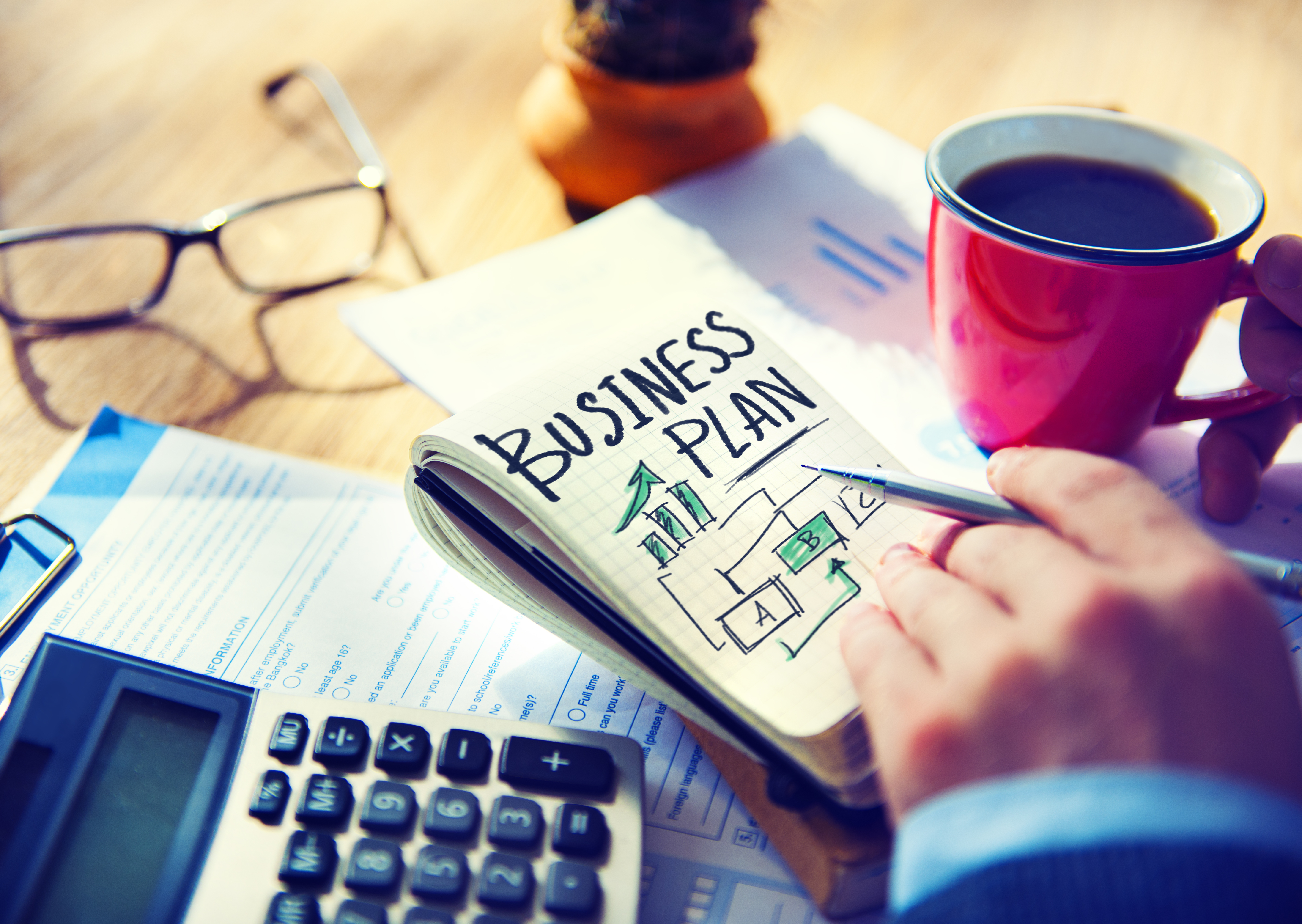 Most companies don't have a written business plan which research show limits their success