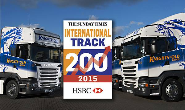 Knights of Old recognised in 2015 The Sunday Times HSBC