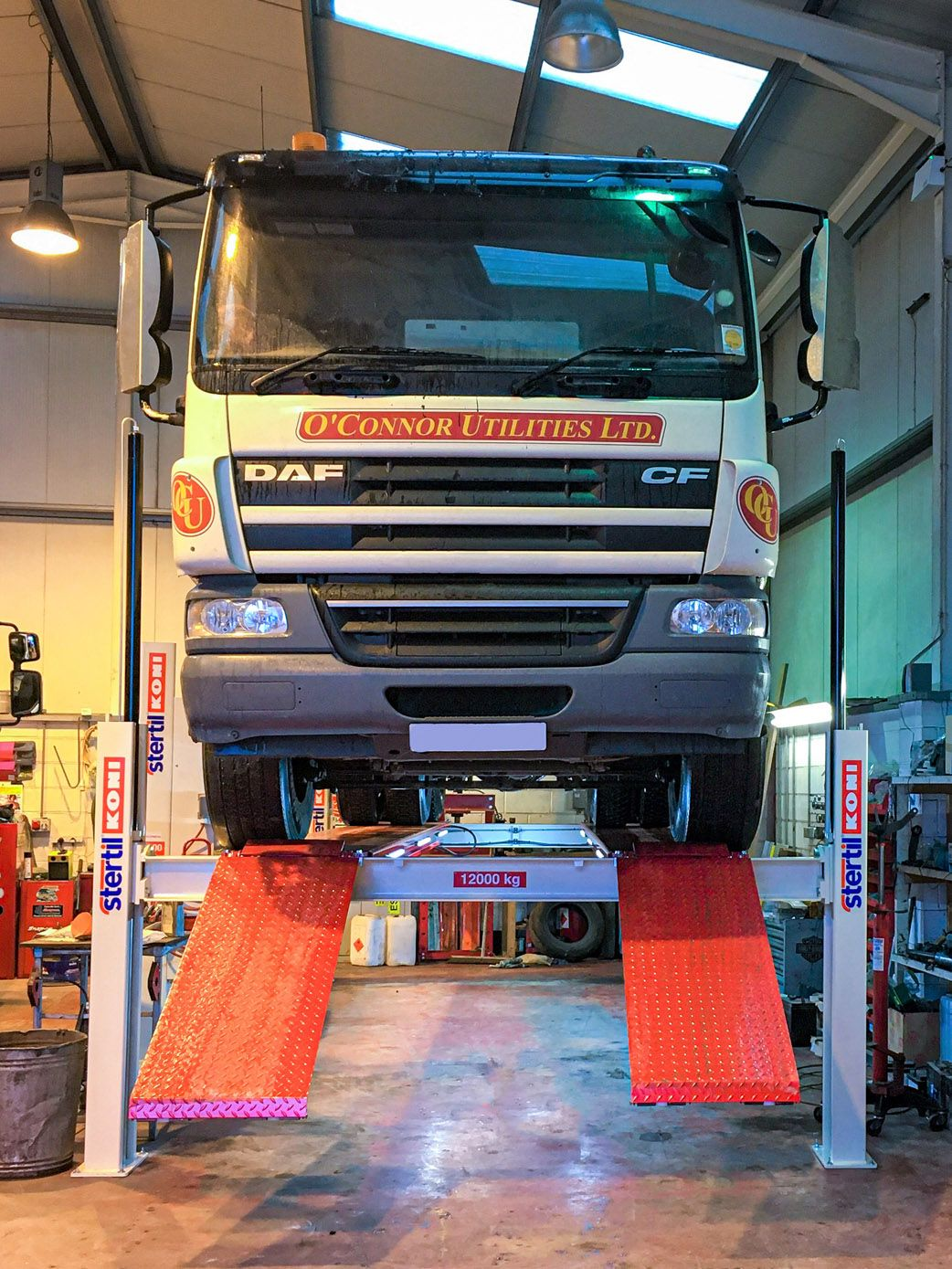 Company invests in Stertil Koni Vehicle Lifts